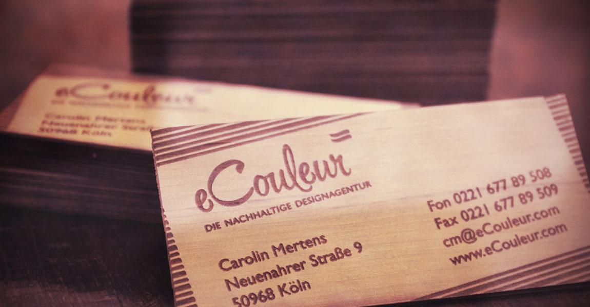 eCouleur-nachhaltige-Designagentur-Koeln-Holz-Visitenkarte