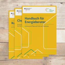 eCouleur Referenz nachhaltiges Design DENA Printdesign iSFP BMWI Broschueren