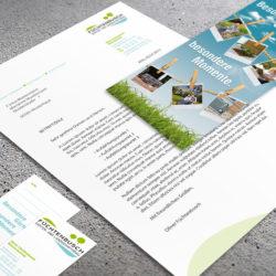 eCouleur Referenz nachhaltiges Design Galabau Fuechtenbusch Geschaeftsausstattung