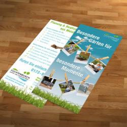 eCouleur Referenz nachhaltiges Design Galabau Fuechtenbusch Printdesign Flyer