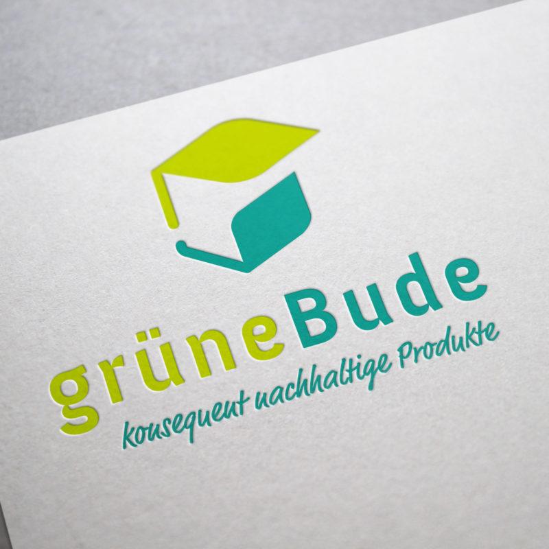 eCouleur Referenz nachhaltiges Design Grüne Bude Corporate Design Logo