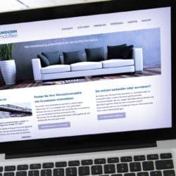eCouleur Referenz nachhaltiges Design Grundstein Immobilien Webdesign