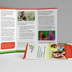 eCouleur Referenz nachhaltiges Design Innowego Printdesign Flyer