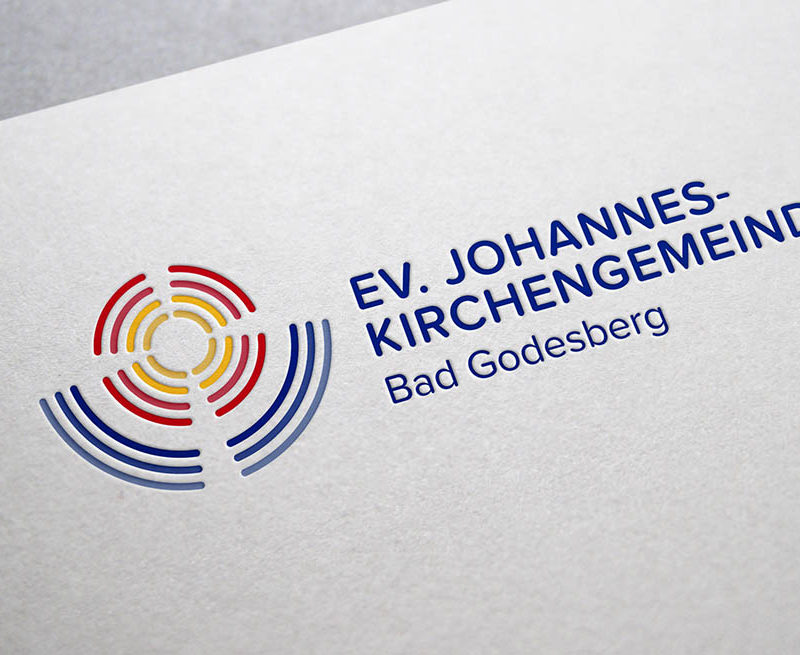 eCouleur Referenz nachhaltiges Design Johannes Kirchengemeinde Corporate Design Logo