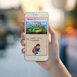 eCouleur Referenz nachhaltiges Design Najuversum responsive Webdesign Wordpress mobil