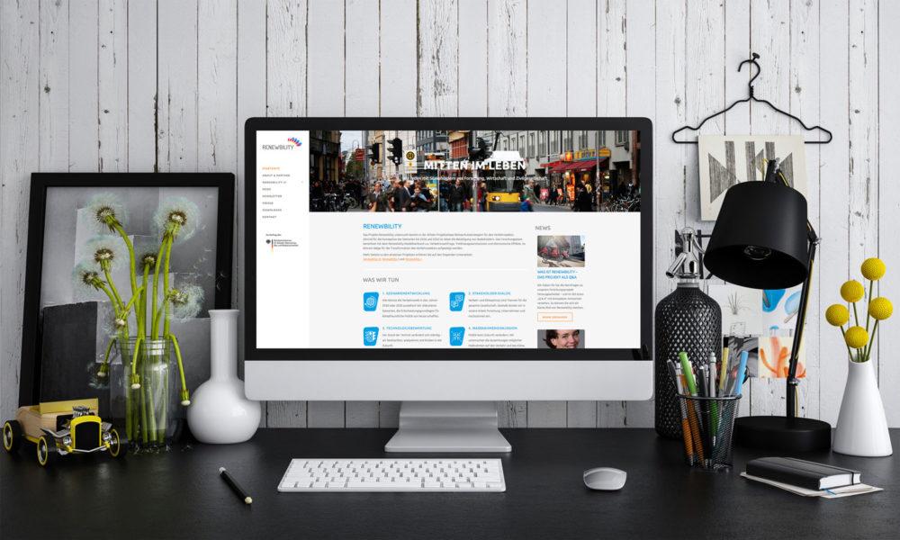 eCouleur Referenz nachhaltiges Design Renewbility Webdesign responsive