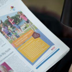 eCouleur Referenz nachhaltiges Design Seepark Zülpich Printdesign Anzeige