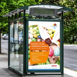 eCouleur Referenz nachhaltiges Design Seepark Zülpich Printdesign Plakat Citylight Motiv 2