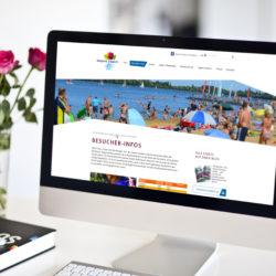 eCouleur Referenz nachhaltiges Design Seepark-Zuelpich responsive Webdesign iMac