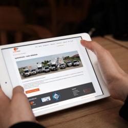 eCouleur Referenz nachhaltiges Design systemtrans gmbh Webdesign iPad